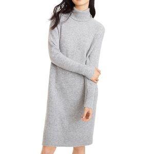 J. Crew Turtleneck Dress, Size L, New with Tag